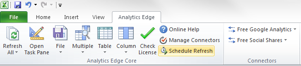 Analytics-Edge-Core-Addin
